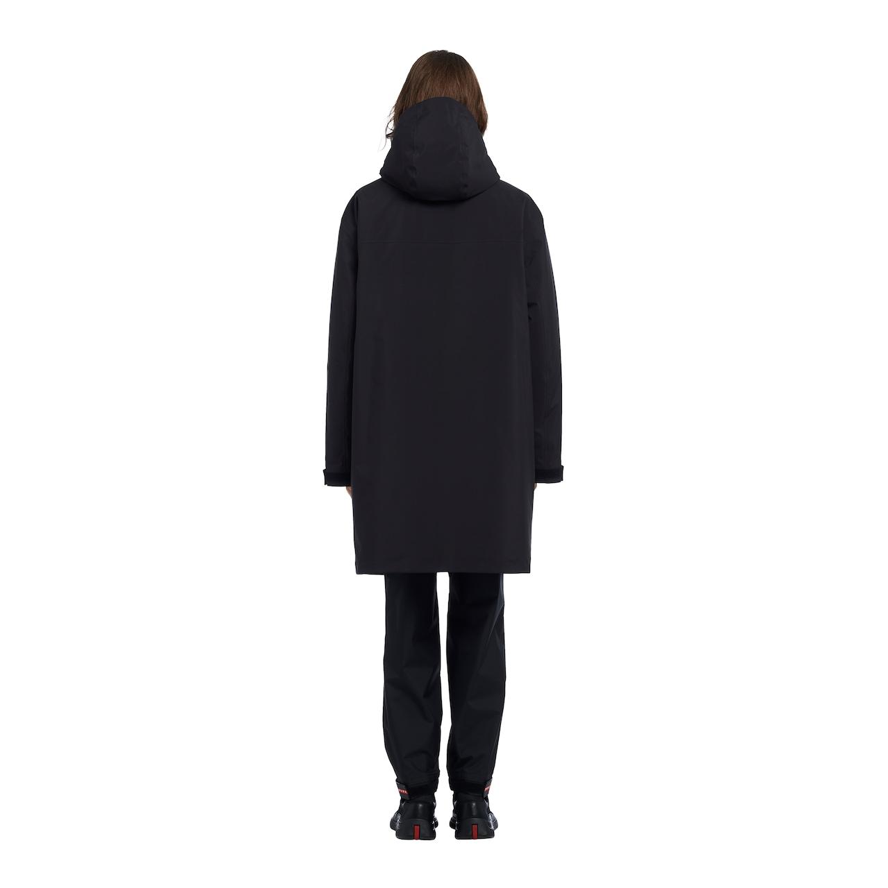 Professional technical fabric raincoat