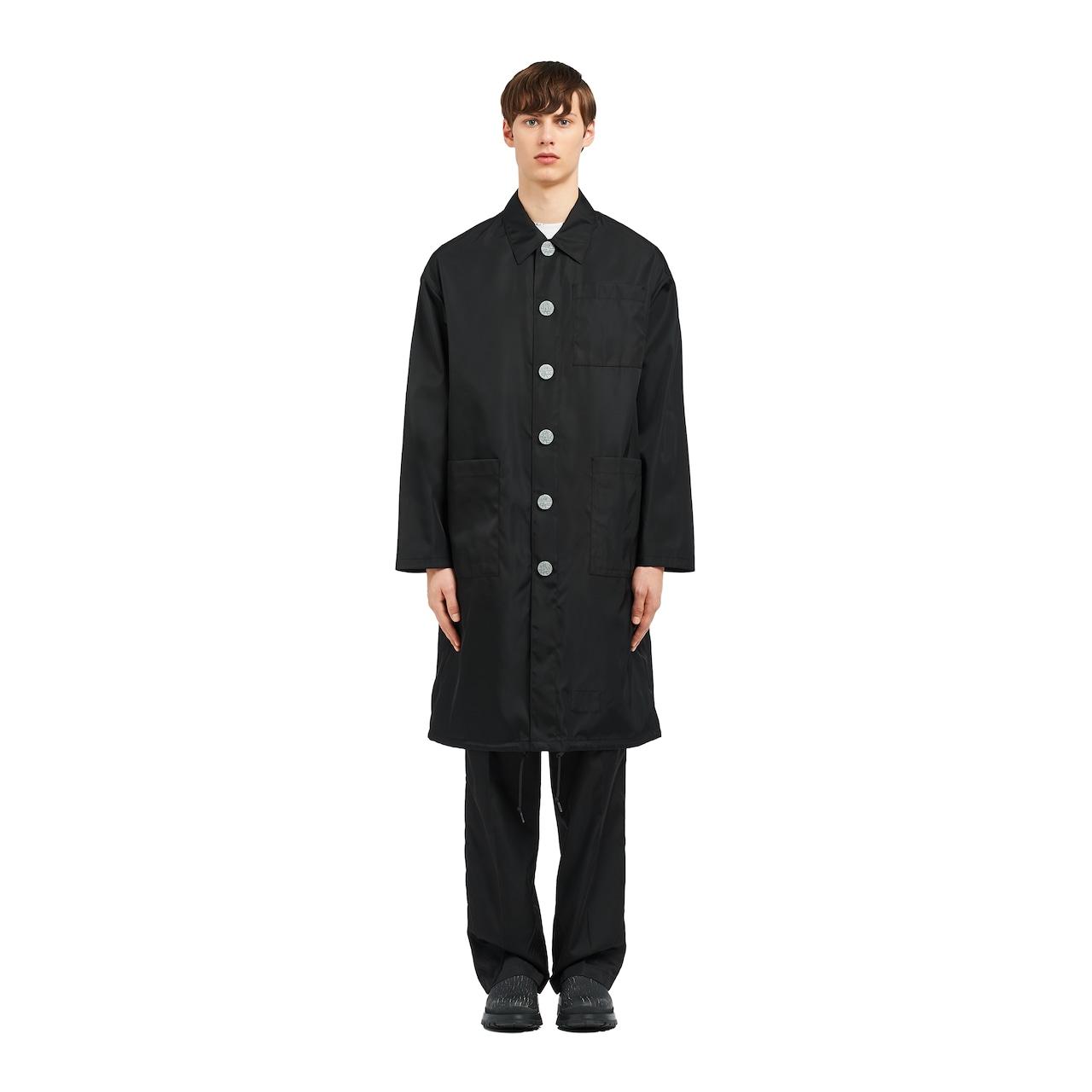 Prada Invites nylon gabardine raincoat