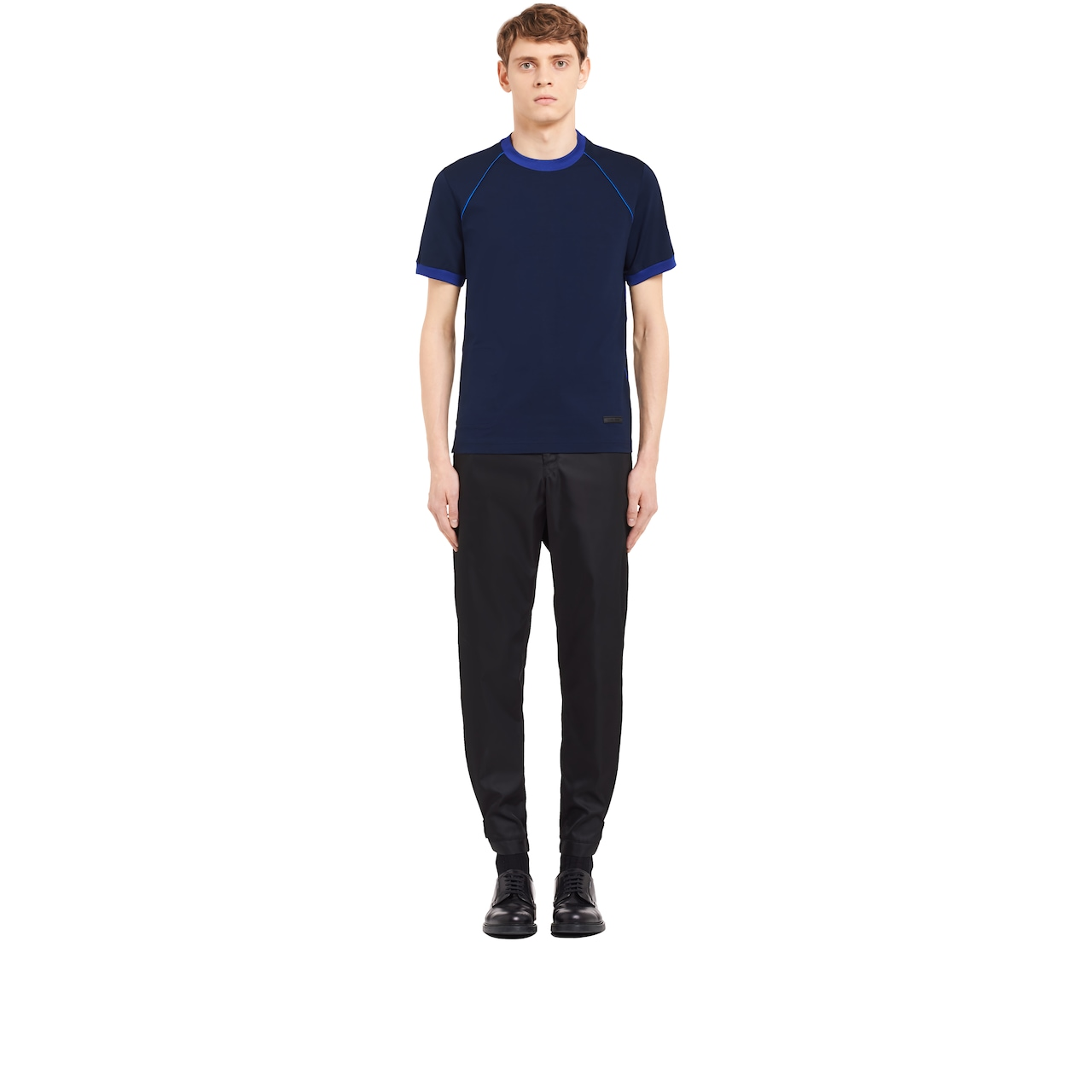 Prada 弹力棉质T恤 2
