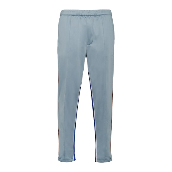 Jogging pants with inserts