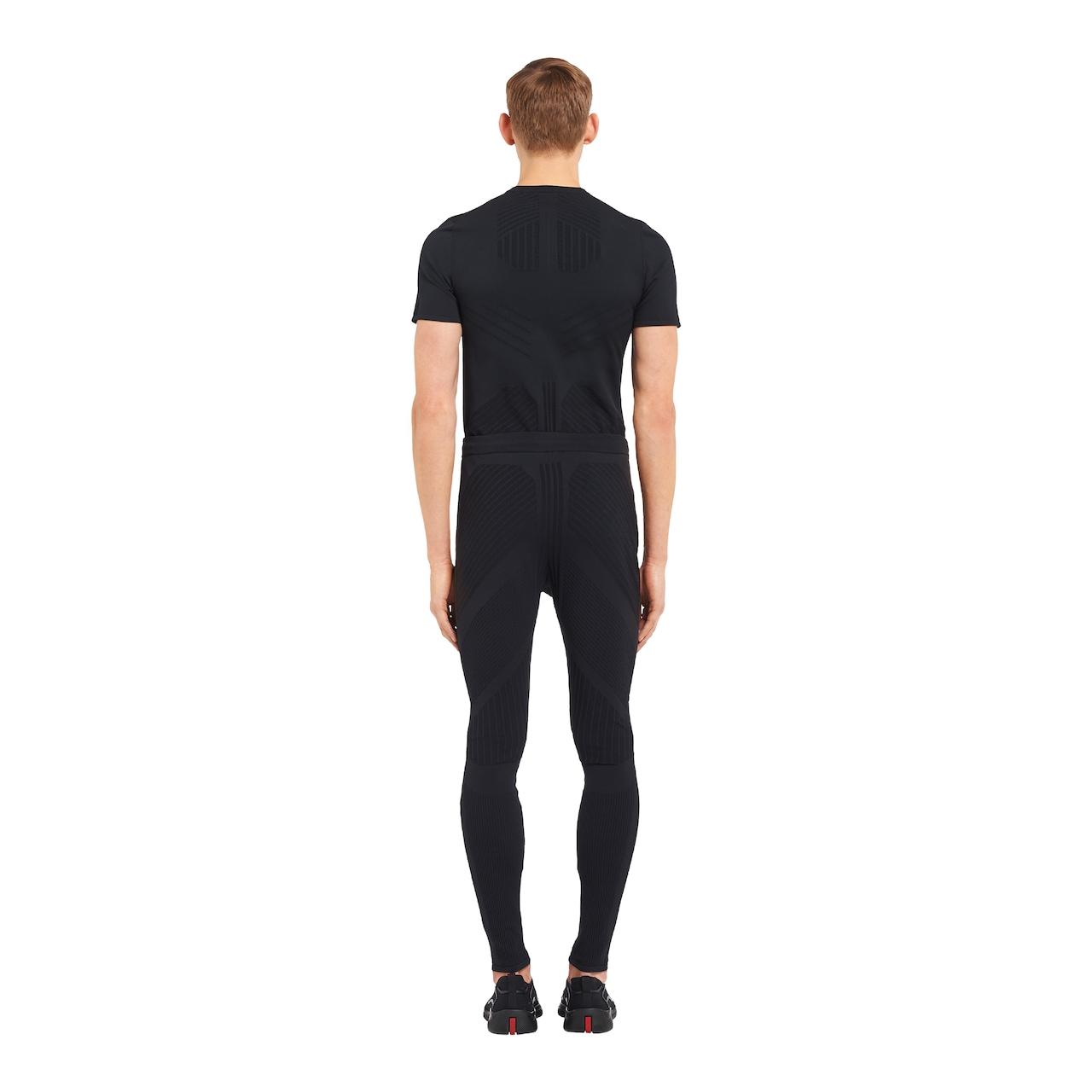Light technical nylon trousers