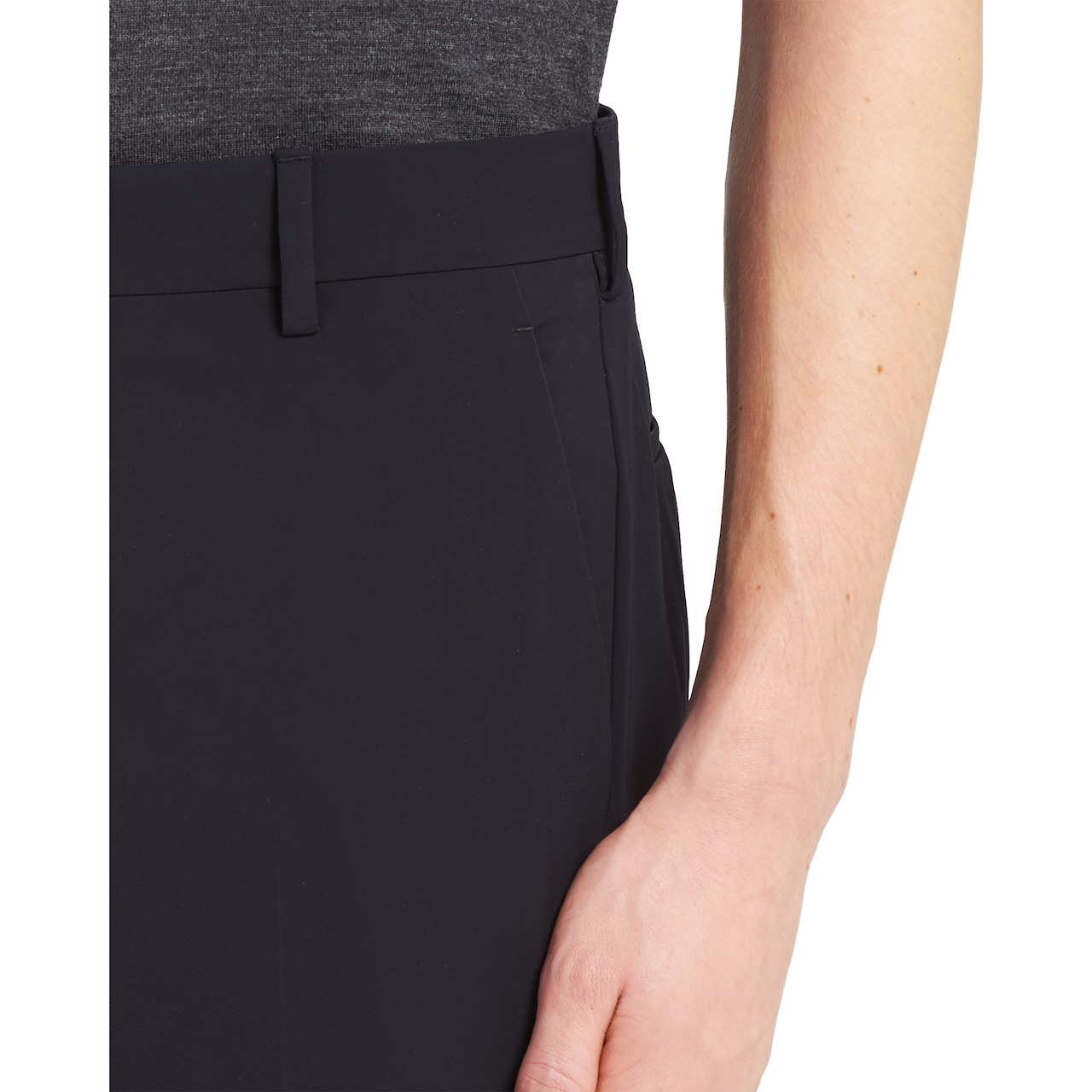 Prada Stretch technical twill trousers 5