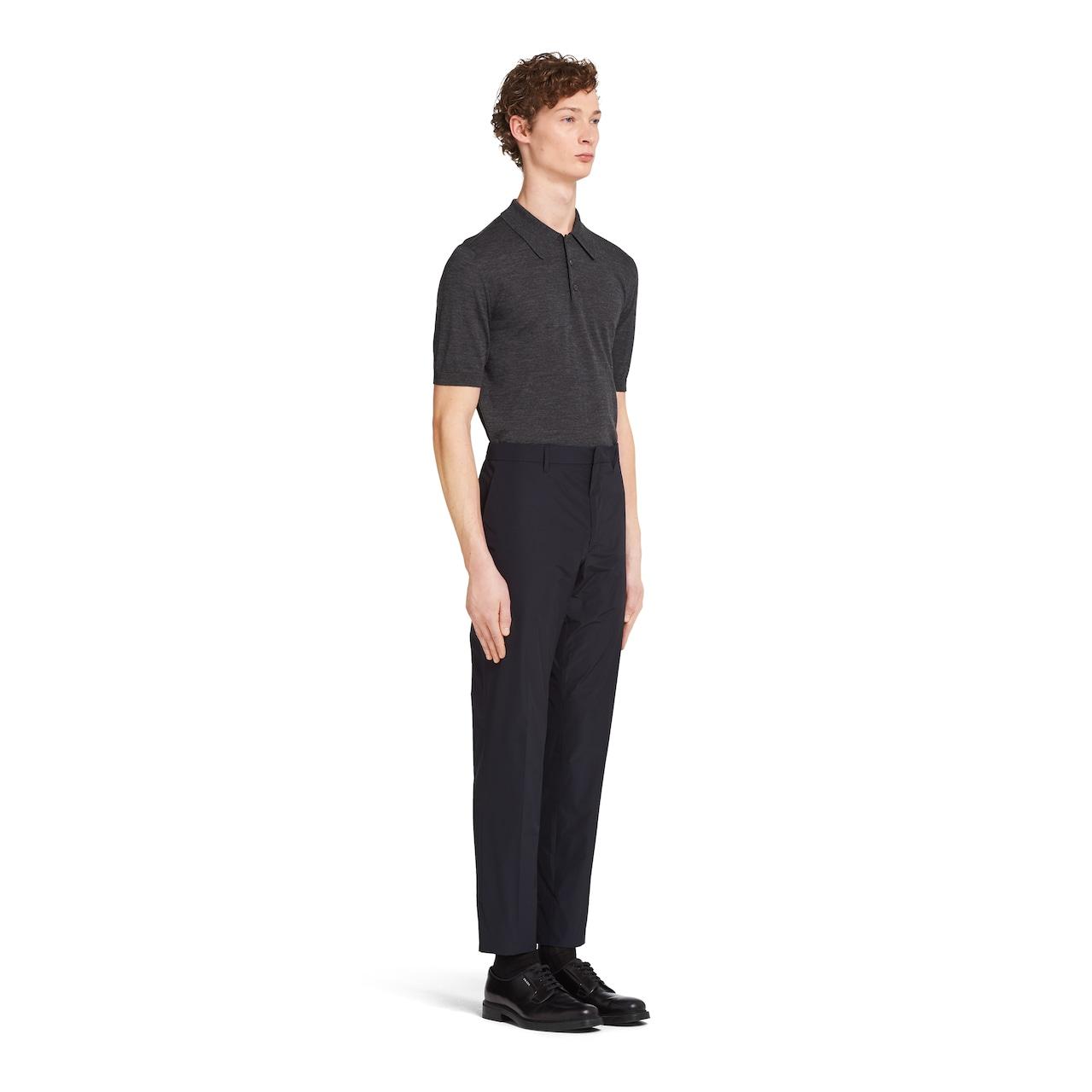 Prada Technical poplin jogging pants 3