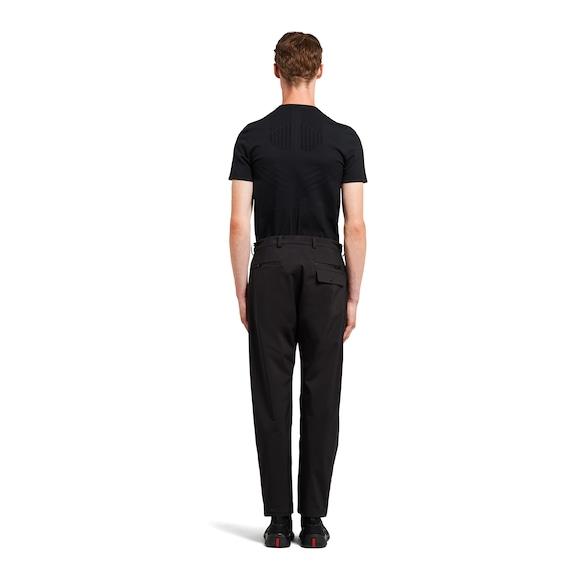 Prada LR-MX013 professional technical fabric trousers 4