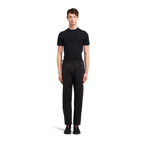 Prada LR-MX013 professional technical fabric trousers 3