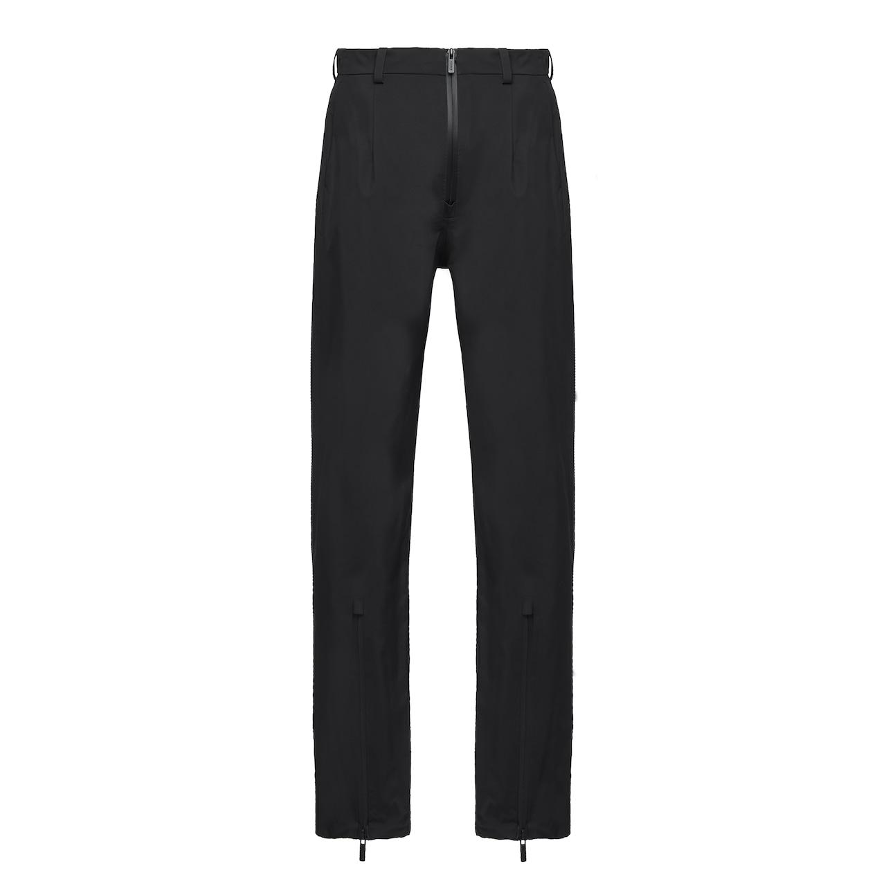 Prada LR-MX013 professional technical fabric trousers 1