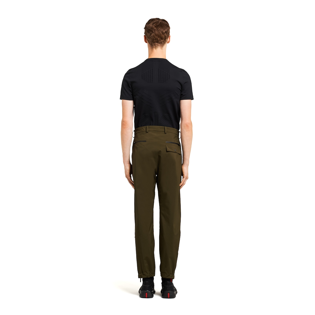 LR-MX014 professional technical fabric trousers 4