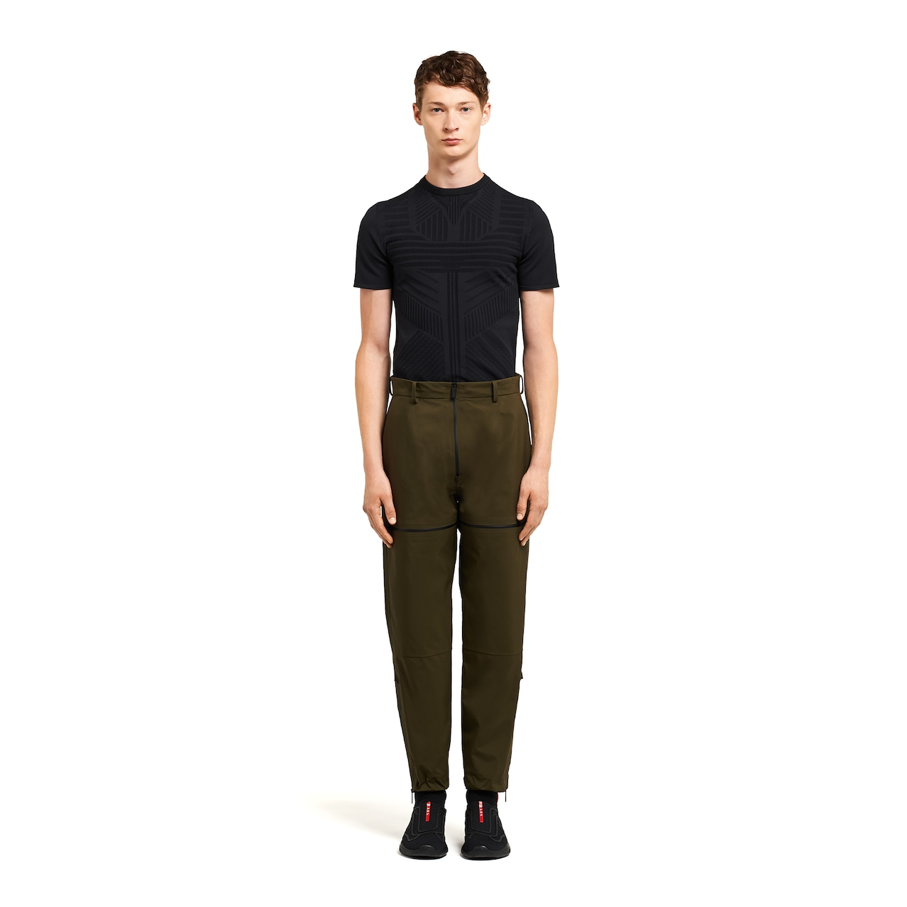 LR-MX014 professional technical fabric trousers 2