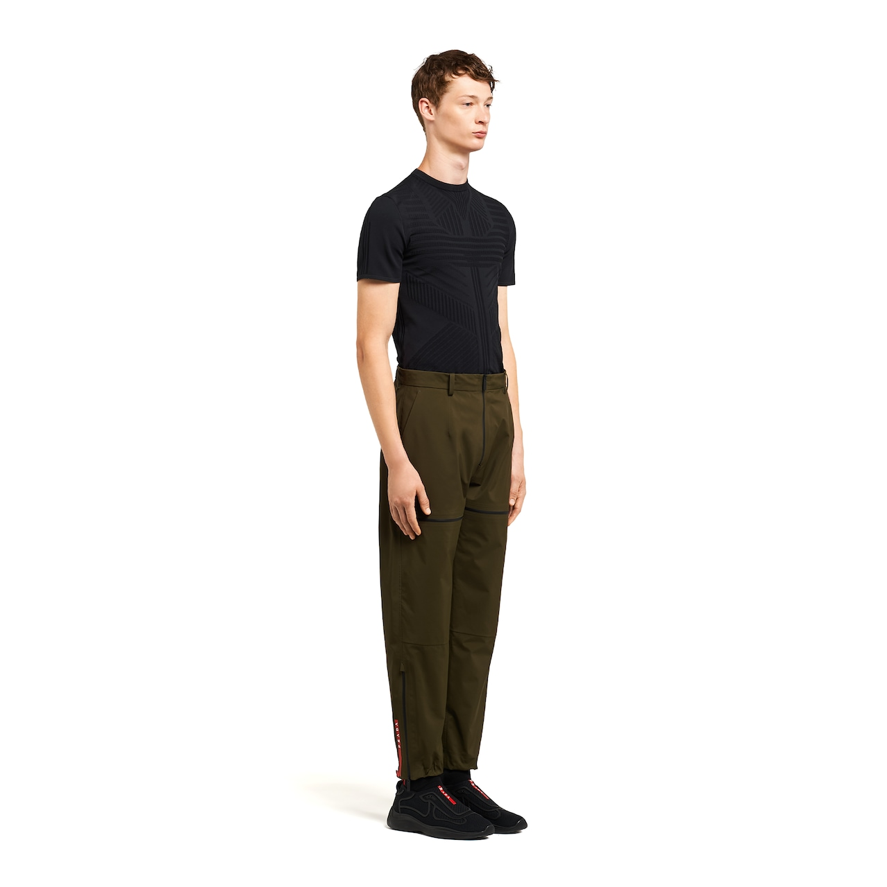 LR-MX014 professional technical fabric trousers 3