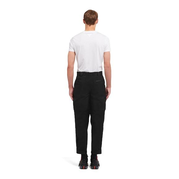 Prada LR-MX023 织物长裤 4