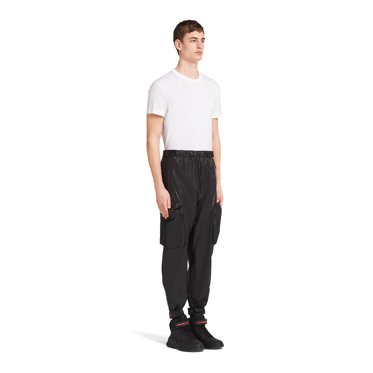 Prada LR-LX025 nylon pants 3