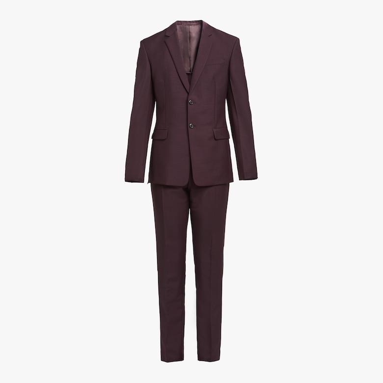 Prada Kid mohair single-breasted suit - Man