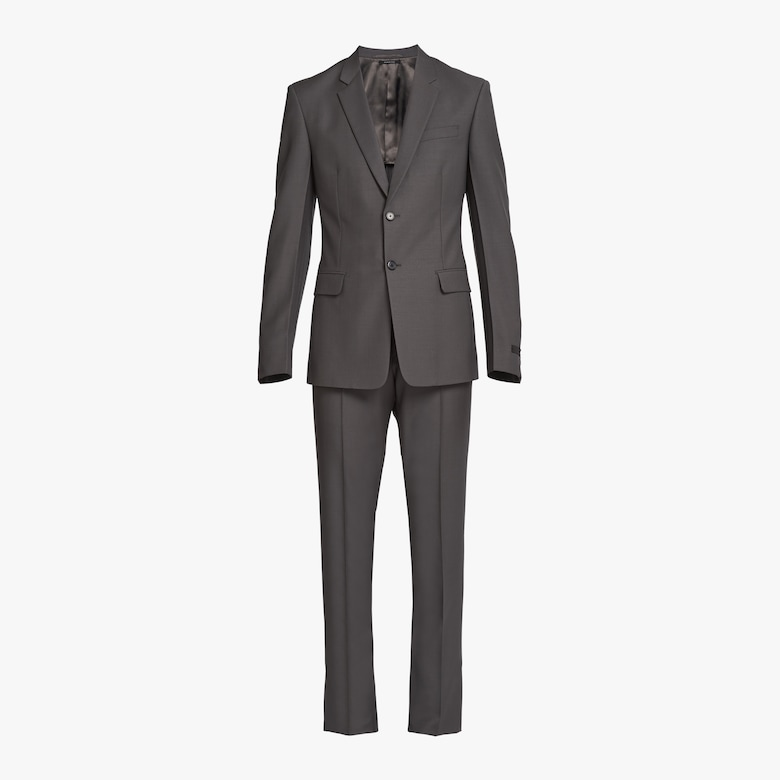 Prada Light mohair single-breasted suit - Man
