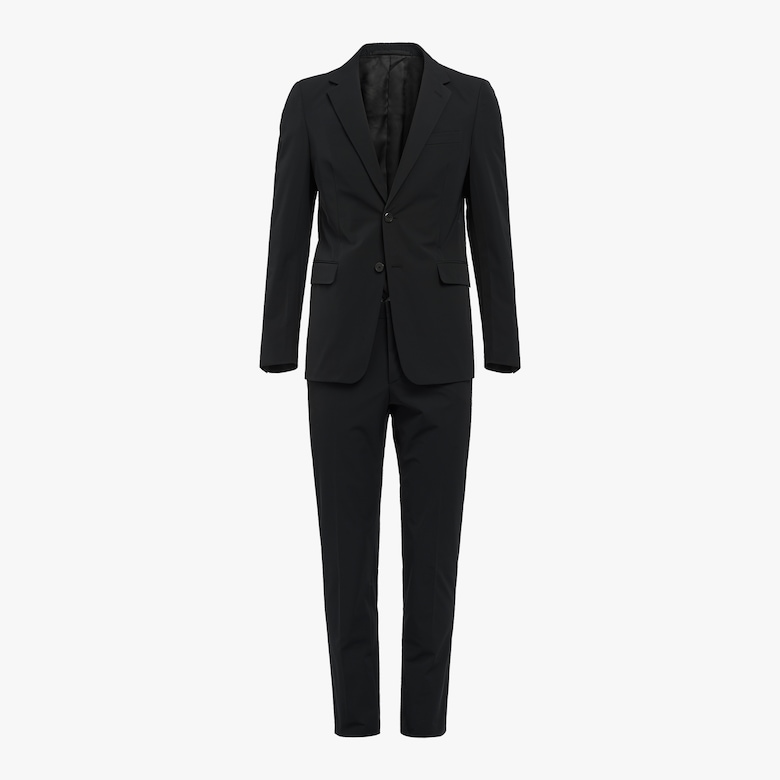 Prada Technical fabric single-breasted suit - Man