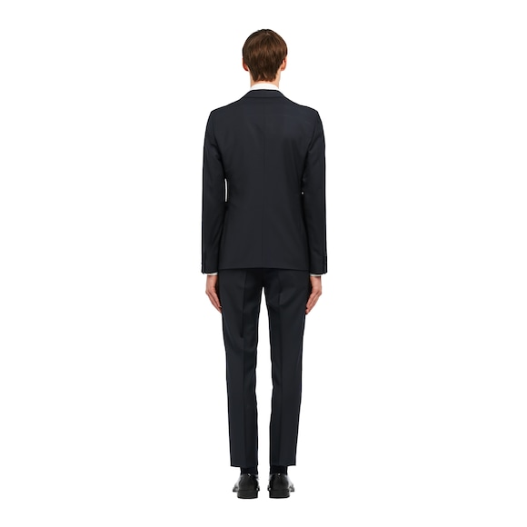 Singled-breasted two-button kid mohair tuxedo
