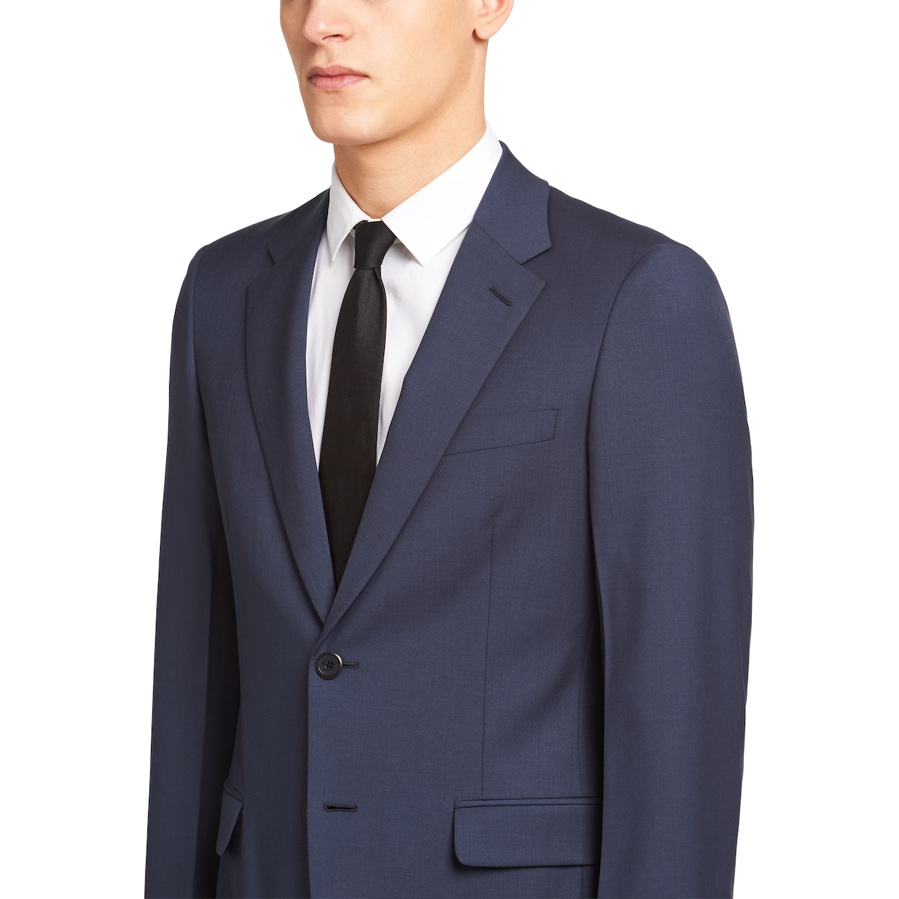 Prada Single Breasted Wool And Mohair Suit 5