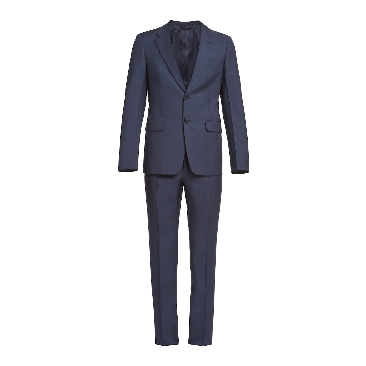 Prada Single Breasted Wool And Mohair Suit 1