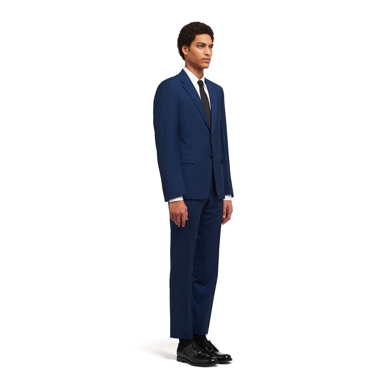 Prada Single Breasted Wool And Mohair Suit 3