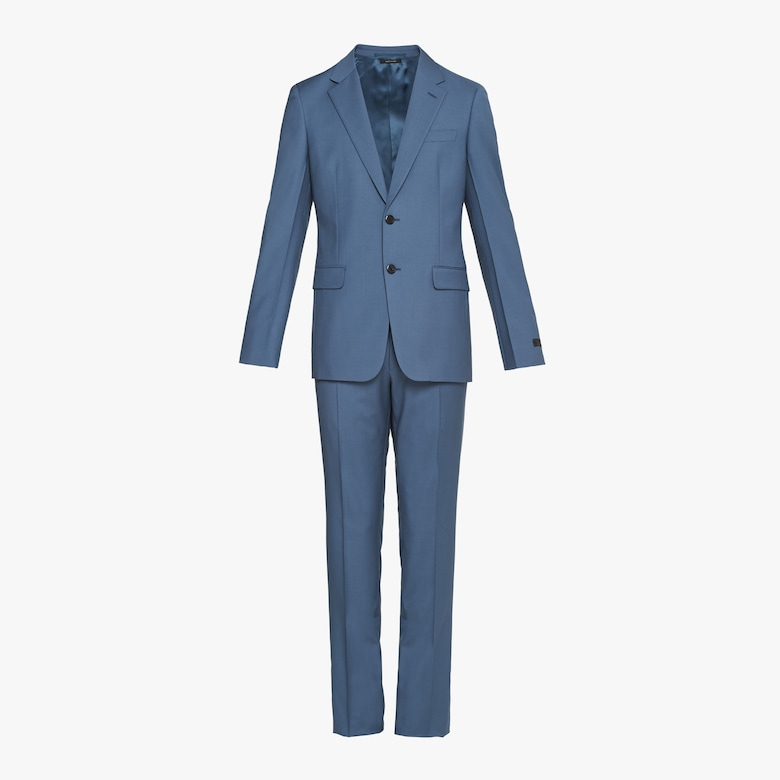 Prada Single Breasted Wool And Mohair Suit - Man