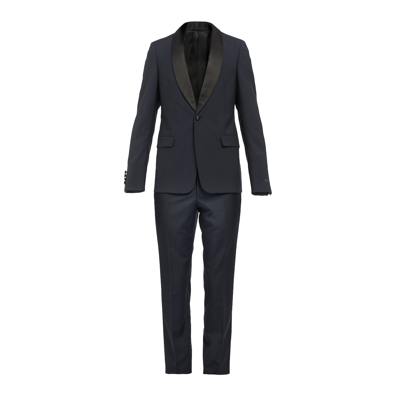 Wool and mohair tuxedo