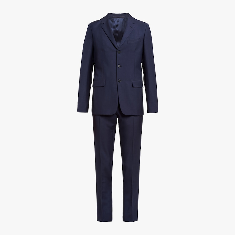 Prada Single-breasted mohair suit - Man