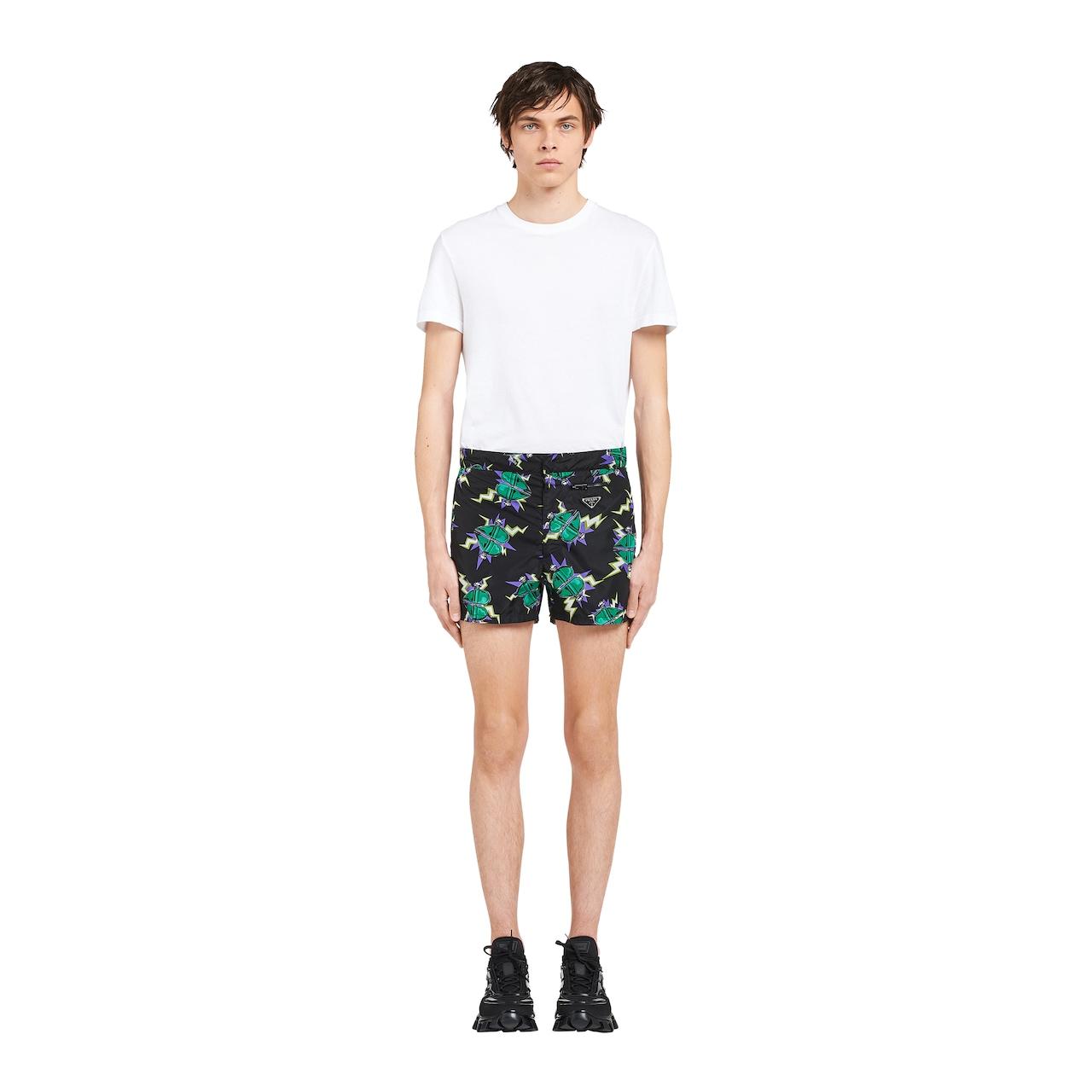 Nylon swim trunks