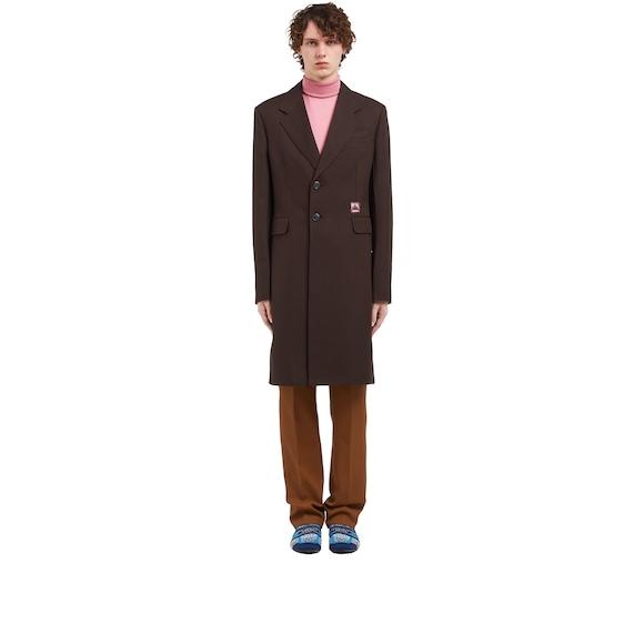 Technical fabric coat