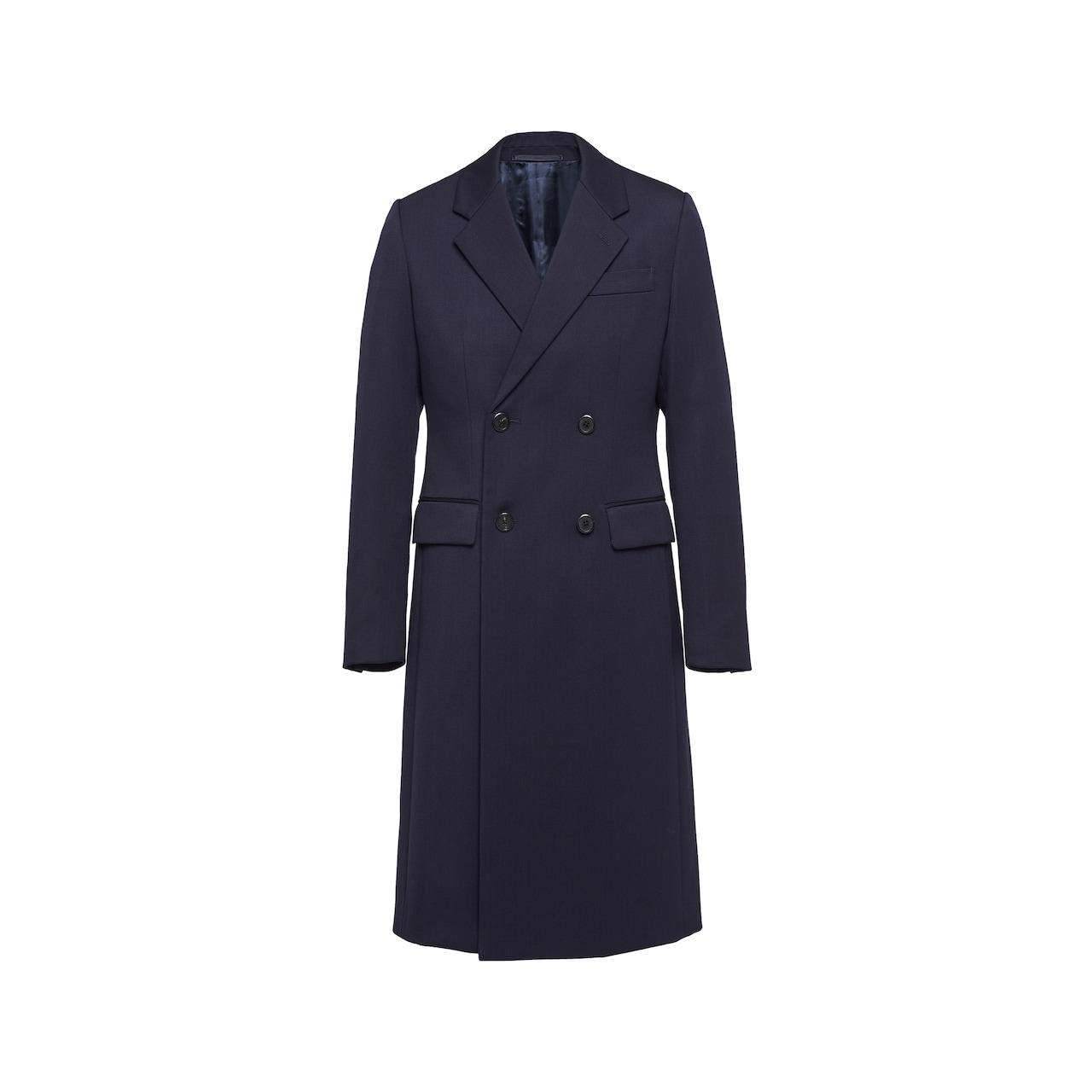 Prada Double-breasted wool coat 1