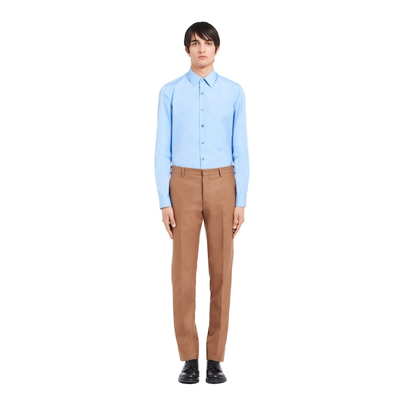 Prada 棉质府绸衬衫 3