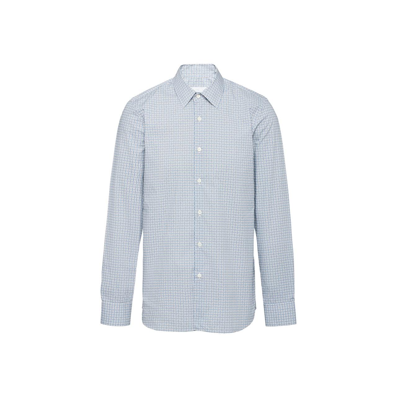 Prada Geometric print shirt 1