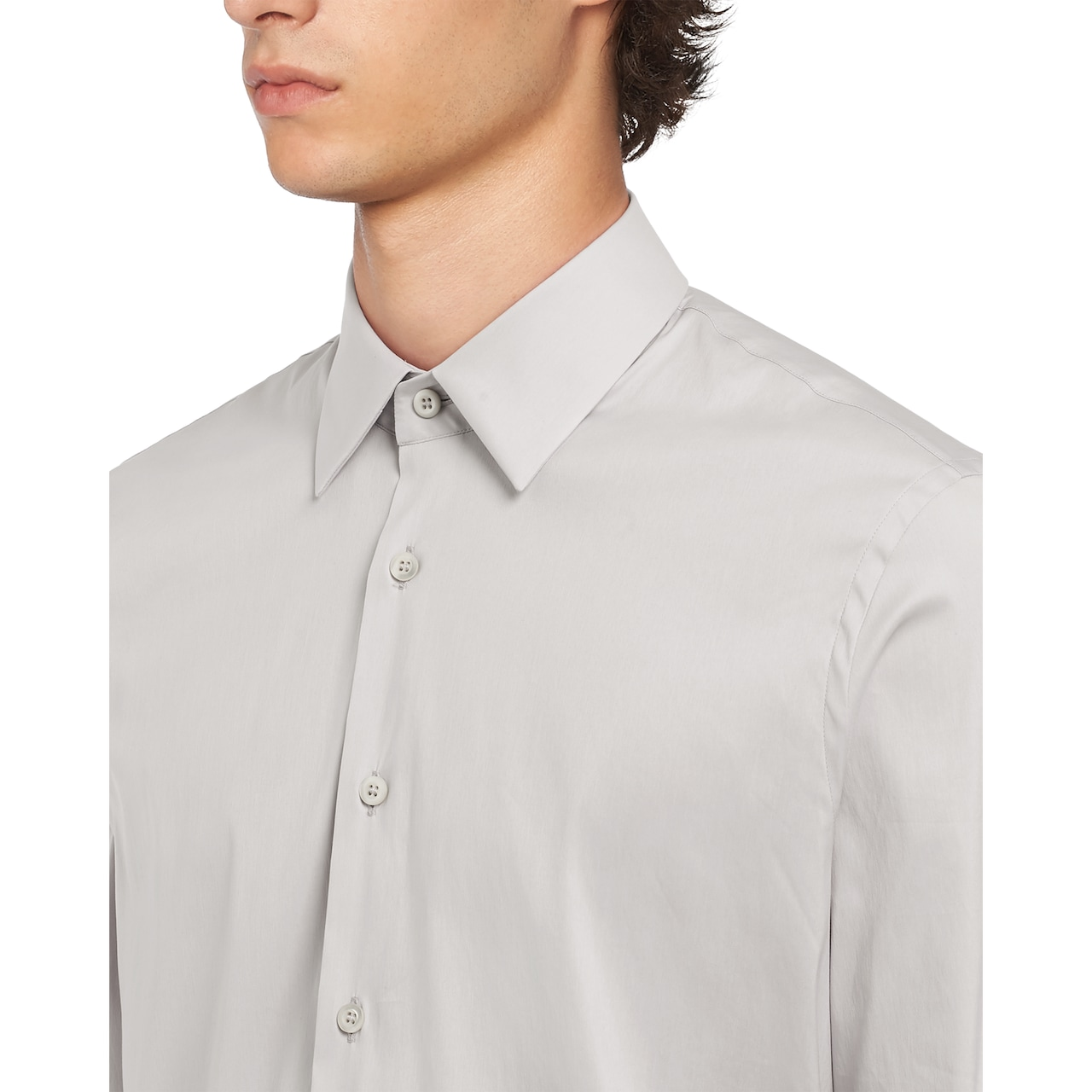 Prada 弹力府绸衬衫 5