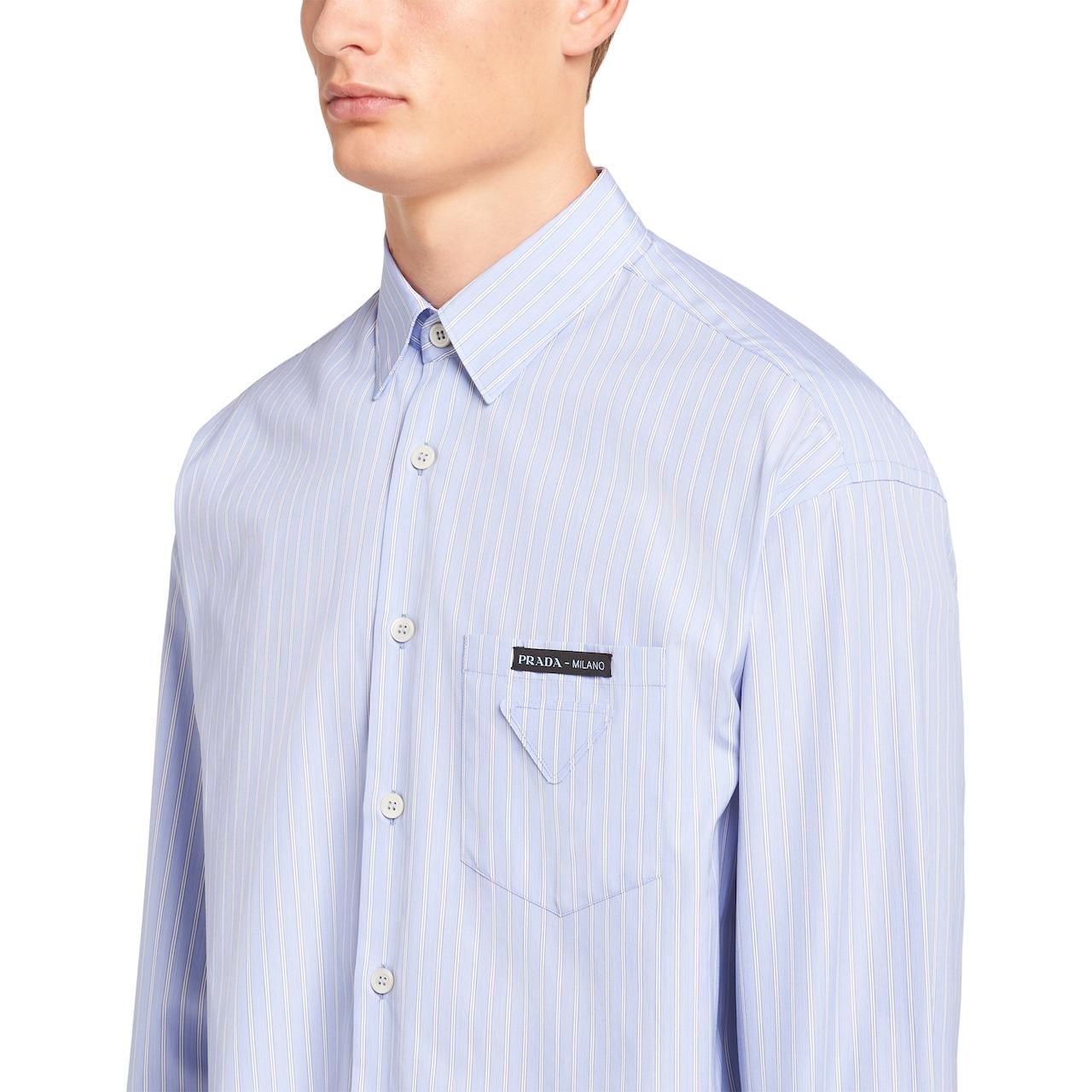 Prada Striped cotton shirt 5