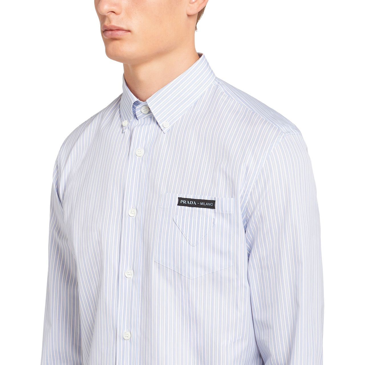 Prada Striped cotton shirt 5