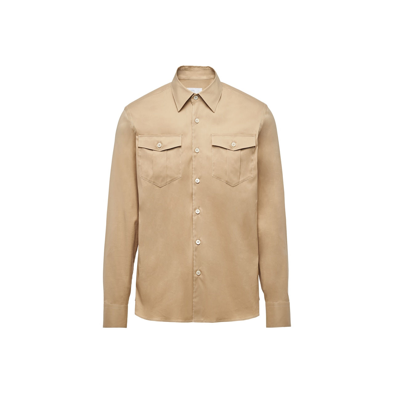 Prada 弹力棉衬衫 1