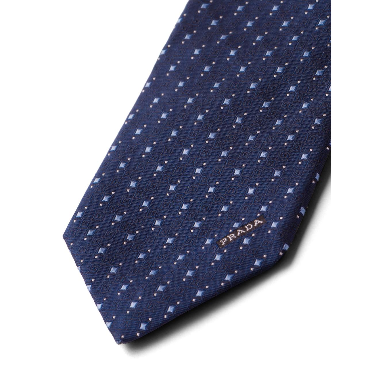 Prada 丝质领带 3
