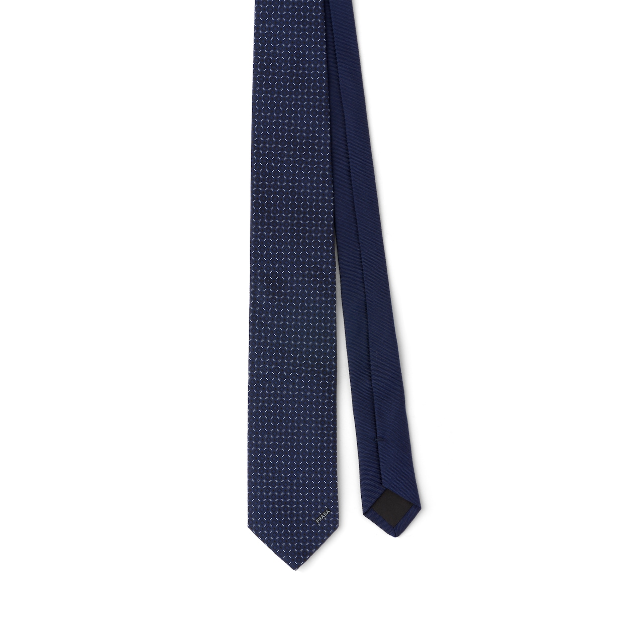 Prada 丝质斜纹领带 1