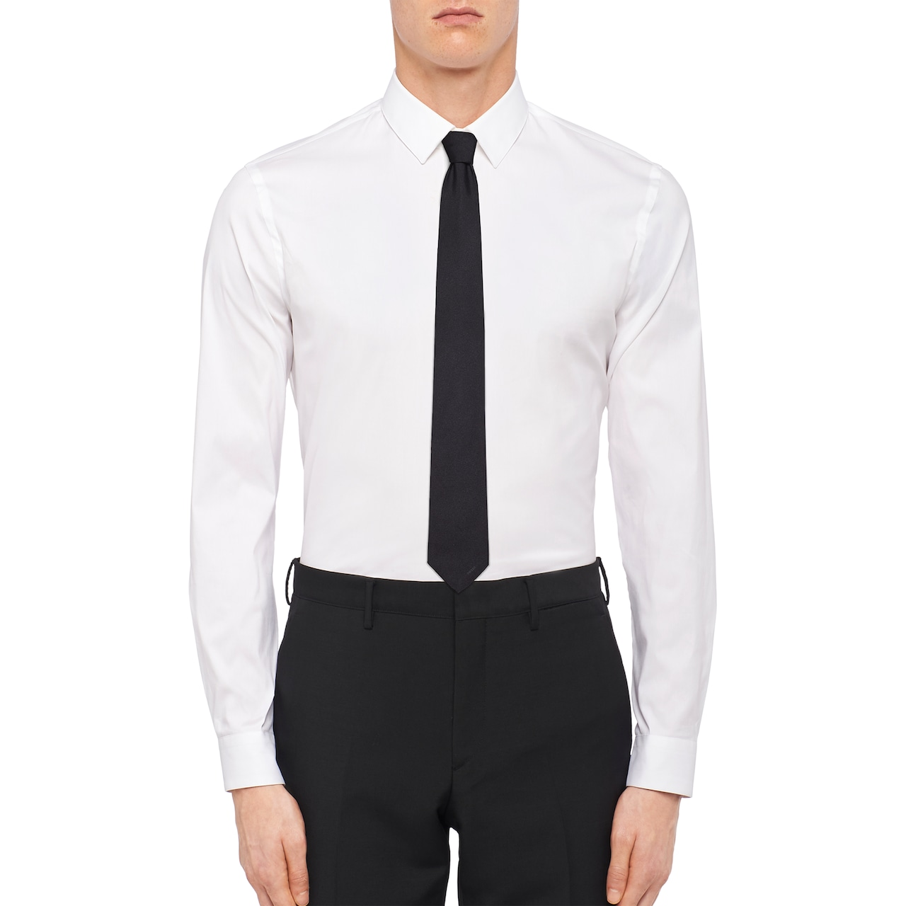 Prada 缎面领带 2