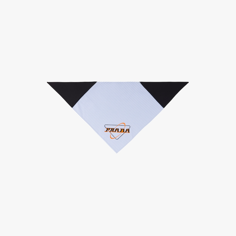 Prada Oxford cotton scarf - Man
