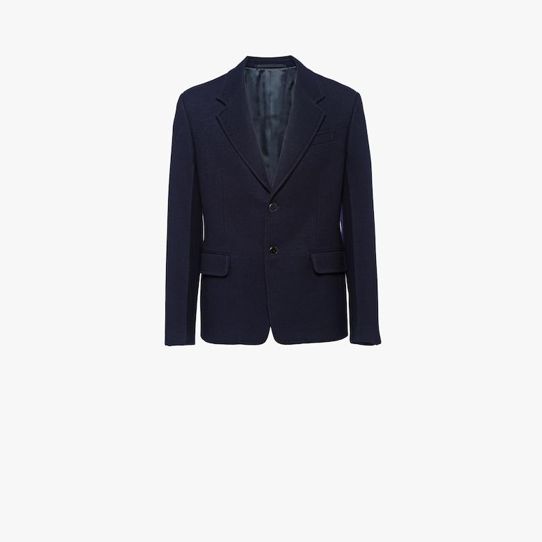 Single-breasted cloth blazer