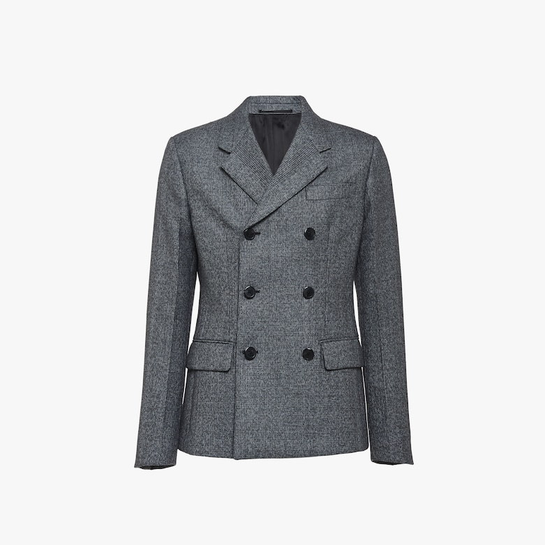 Prince of Wales mouliné jacket