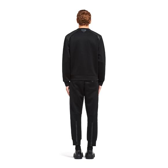 Prada Technical cotton sweatshirt 4