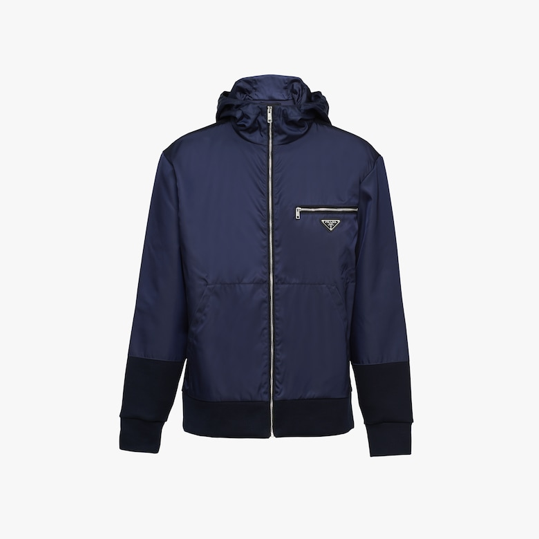 Prada Technical cotton and nylon gabardine jacket - Man