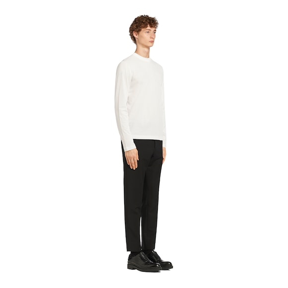 Prada 长袖平纹针织T恤 2