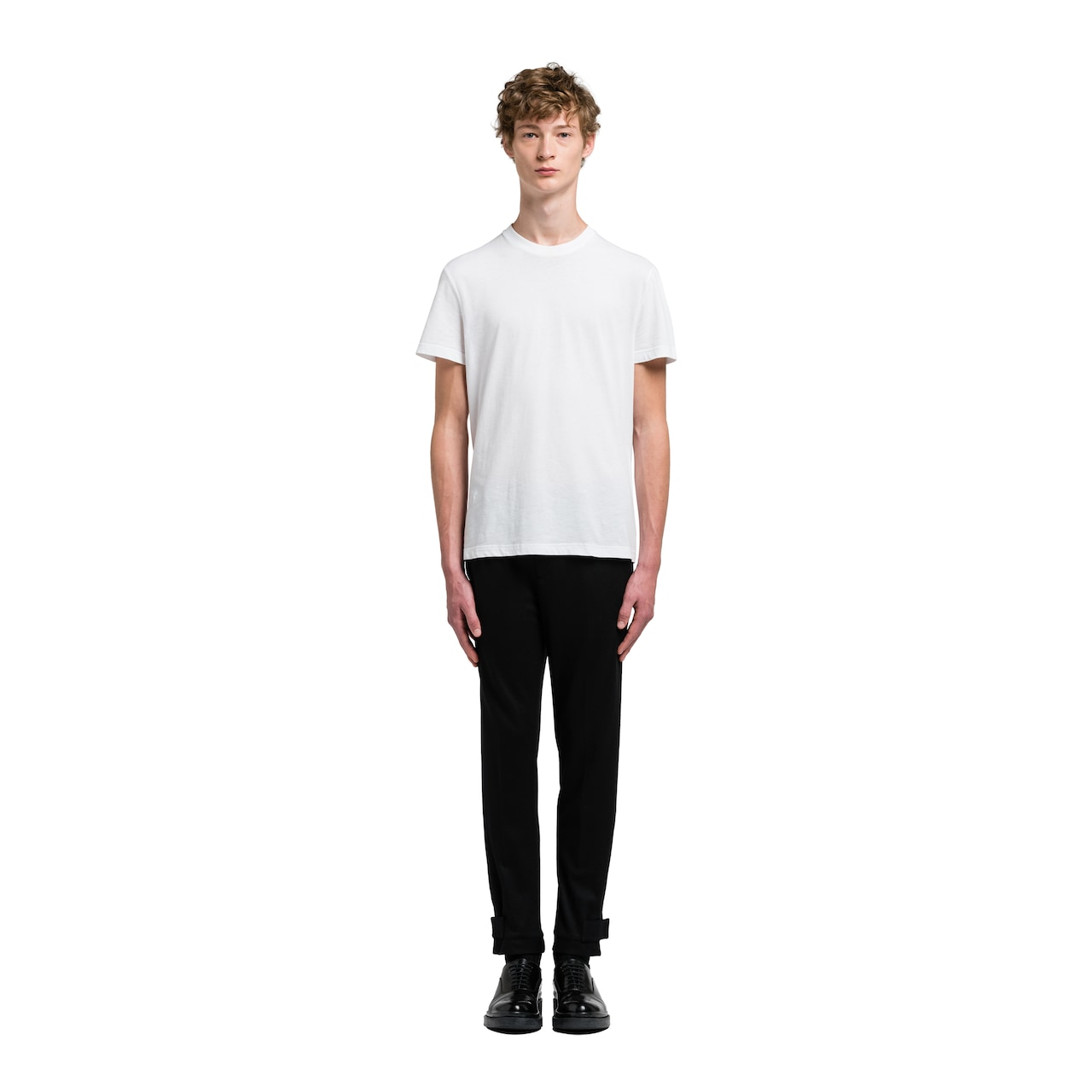 Prada Three Pack Cotton Jersey T-Shirts 2