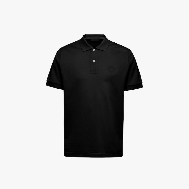 Prada Piqué polo shirt - Man