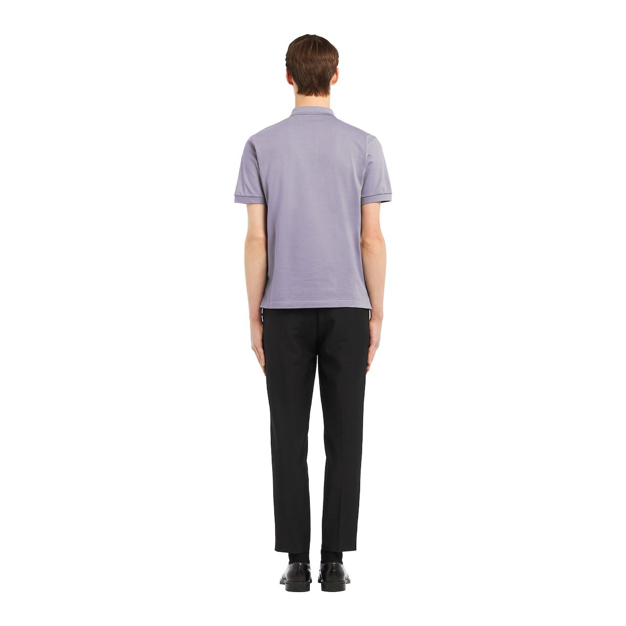 Prada 珠地棉Polo衫 4