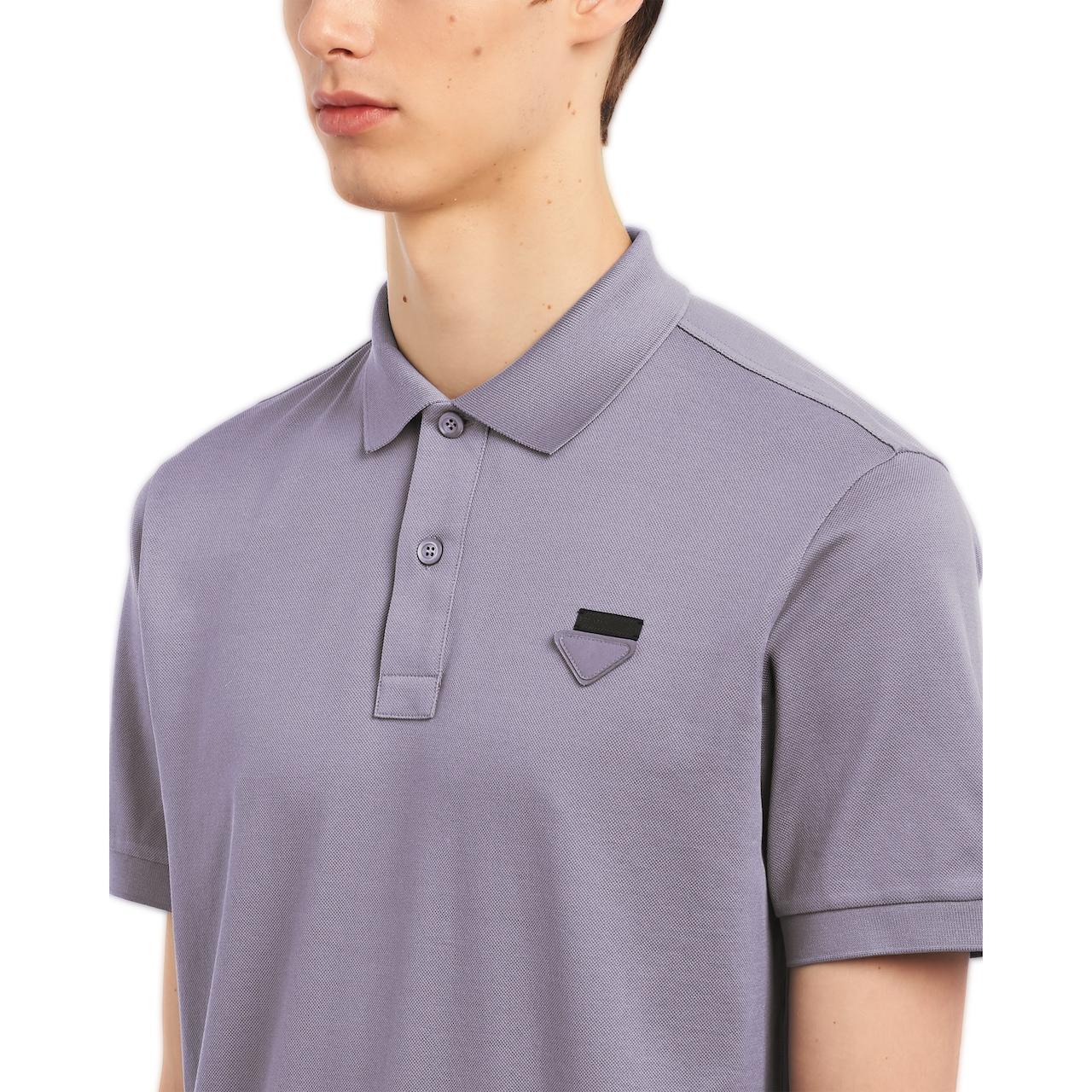 Prada 珠地棉Polo衫 5