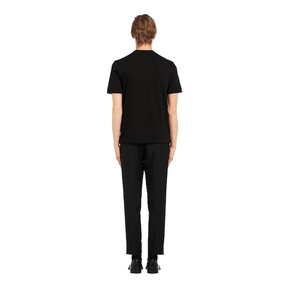 Prada 珠地棉T恤 4