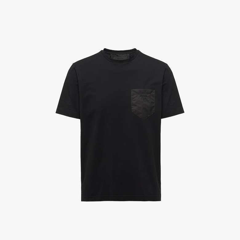 Prada Jersey and nylon T-shirt - Man