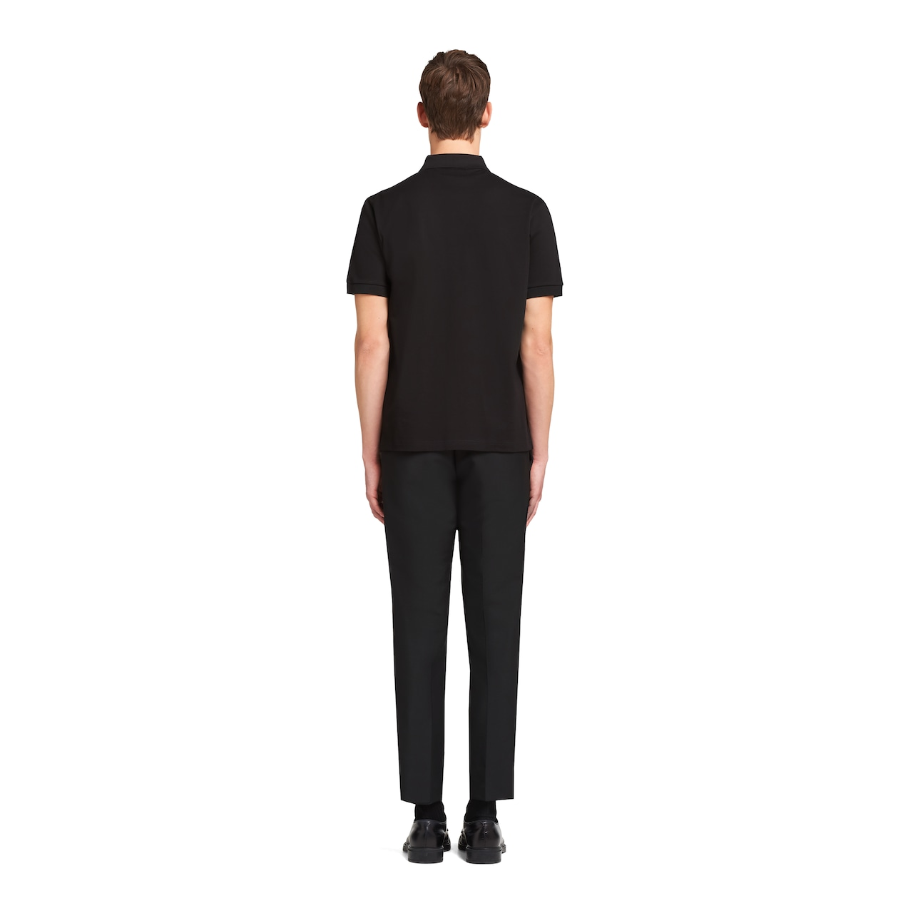 Prada 珠地棉Polo 衫 4